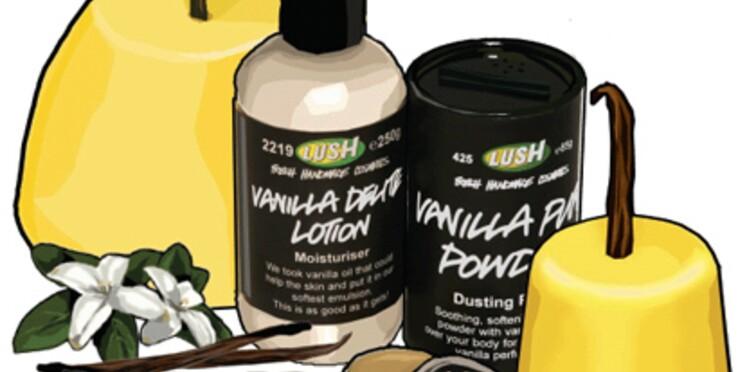 Lush sort une nouvelle gamme de cosmétiques à la vanille