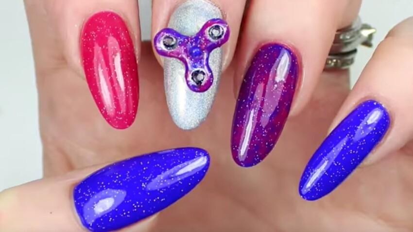 Manucure hand spinner : devenez la star de vos enfants