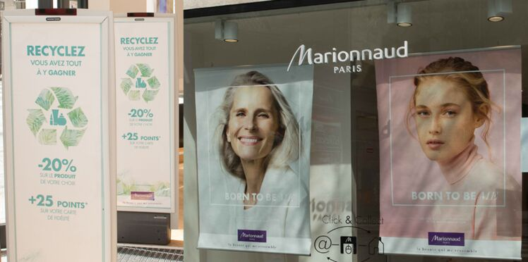 Ensemble avec Marionnaud, recyclons !