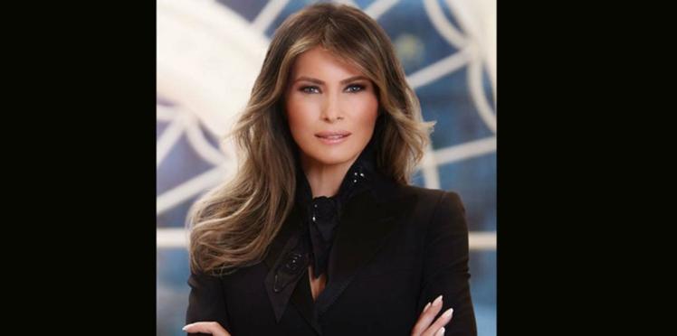 Melania Trump : un portrait officiel zéro défaut