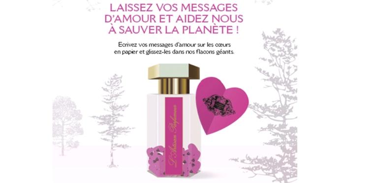 L'amour messager de l'espoir chez L'artisan Parfumeur