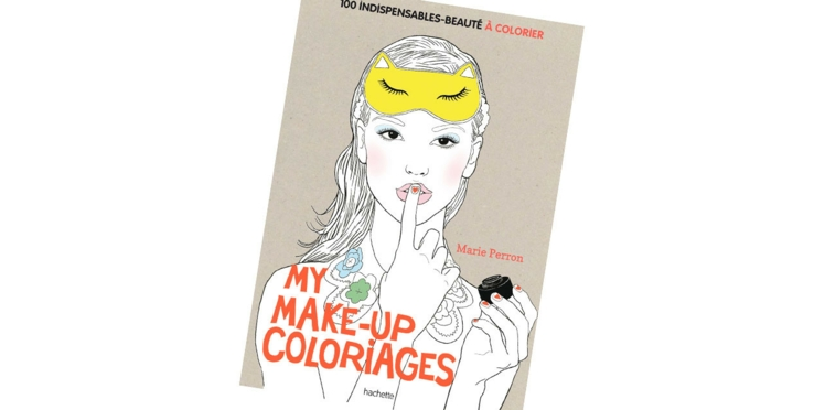 On adore le cahier de coloriages beauté