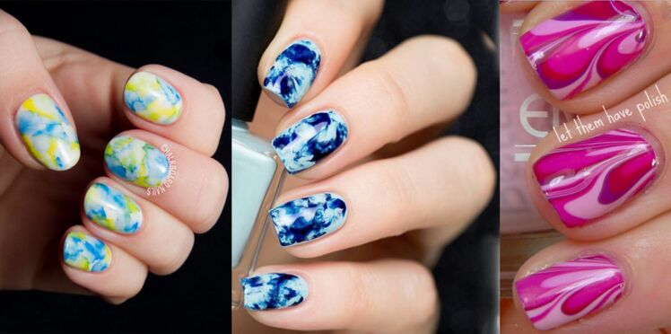 Originale, la tendance water marble !