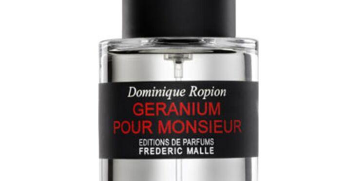 Nouveau parfum homme : Géranium pour monsieur