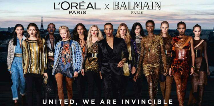 L'Oréal et Balmain lancent une collection make-up absolument géniale