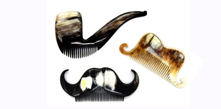 Insolites : des peignes barbe et moustache