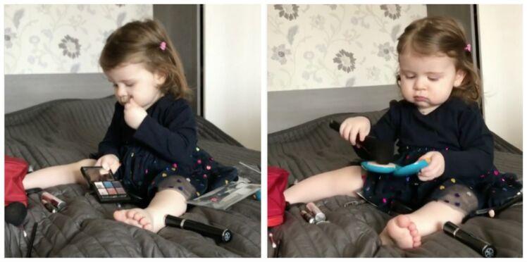 Vidéo : une petite fille de 18 mois vous offre le plus mignon de tutos beauté