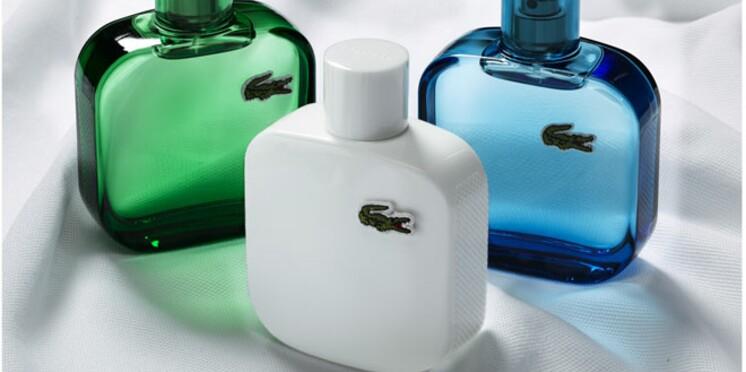 L'emblématique polo Lacoste au coeur d'une collection de fragrances masculines