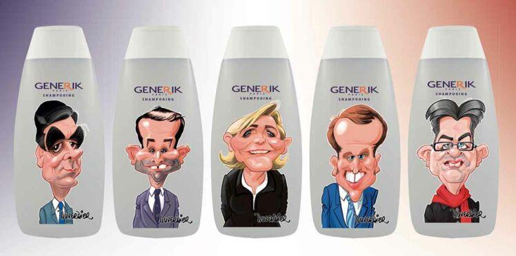 Présidentielle : des shampooings pour désigner le candidat efficace