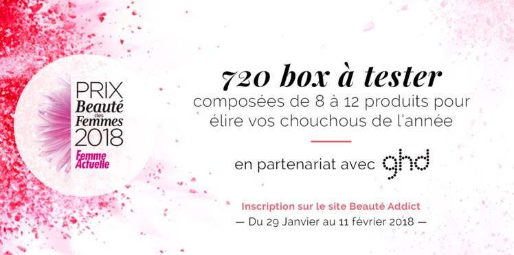 Participez au prix Beauté des Femmes 2018 par Femme Actuelle