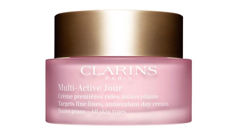Multi-Active Jour, Clarins, le meilleur soin visage en parfumerie