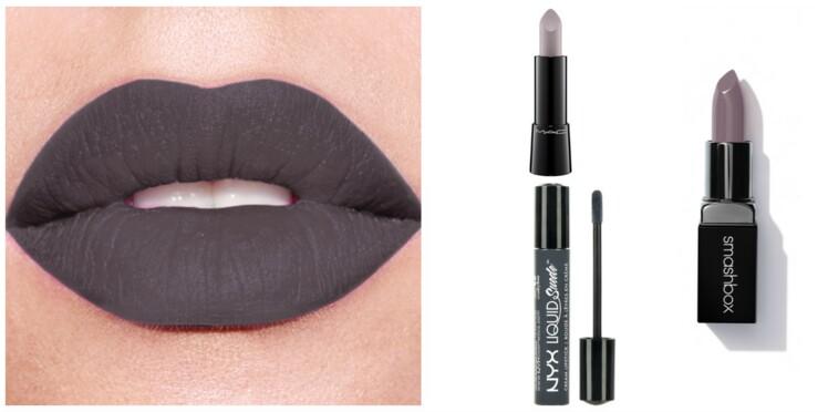Le rouge à lèvres gris, on adopte ou pas ?