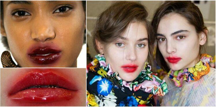 Tendance rouge à lèvres : ça déborde !