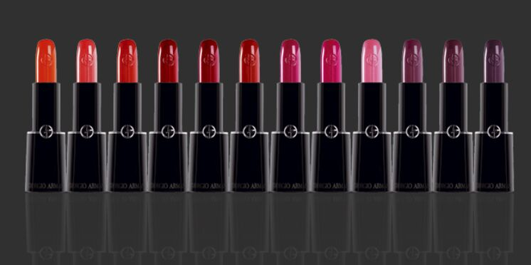 Hydratation et brillance au coeur de la nouvelle gamme de rouges à lèvres de Giorgio Armani