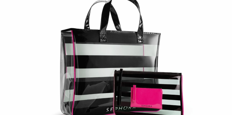Bon plan : un sac de plage et une pochette en cadeau !