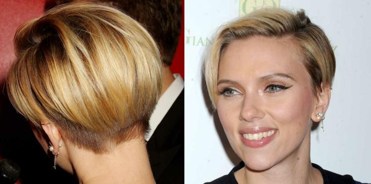 Scarlett Johansson et sa nouvelle coupe courte