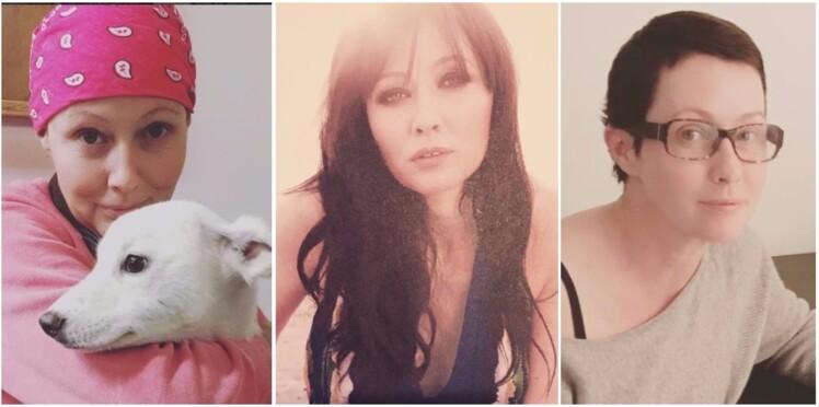 Shannen Doherty affiche fièrement sa première coupe post chimio sur Instagram