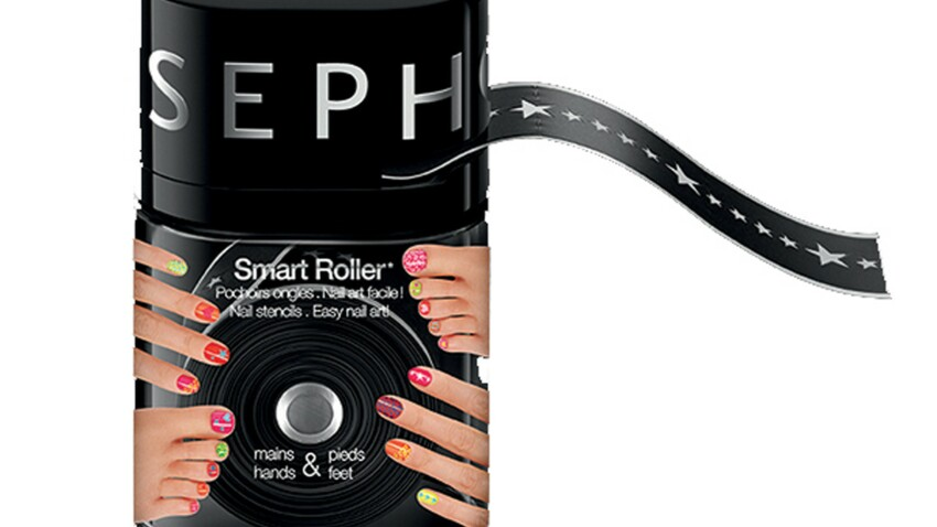 Nail art malin : le distributeur de pochoirs