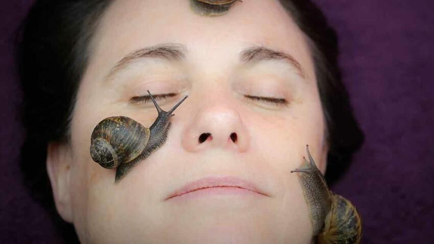 Soin visage à la bave d'escargot, ça vous tente ?