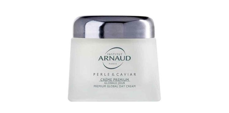 Cette semaine testez la Crème Premium Globale Jour Perle & Caviar avec Femme Actuelle Beauté Addict
