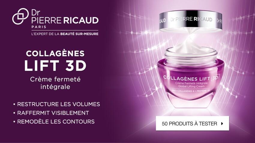 Testez la Crème Fermeté Intégrale Collagènes Lift 3D de Dr Pierre Ricaud
