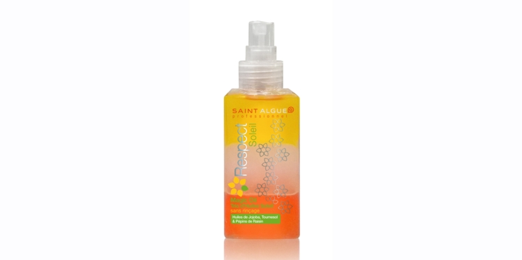 J'ai testé le nouveau spray Magic Oil de Saint Algue