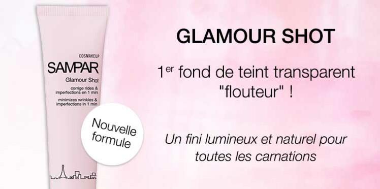 Testez le fond de teint Glamour Shot de Sampar avec Femme Actuelle Beauté Addict