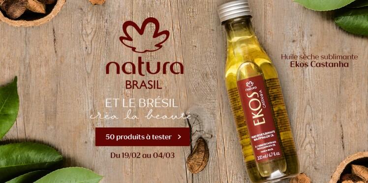 Testez l'Huile Sèche Sublimante Ekos Castanha de Natura Brasil