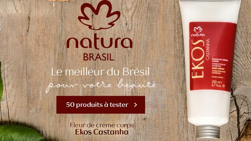 Testez la Fleur de Crème Corps Ekos Castanha avec Femme Actuelle Beauté Addict