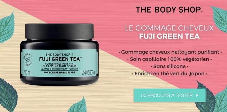 Testez le Gommage Cheveux Nettoyant Purifiant Fuji Green Tea The Body Shop