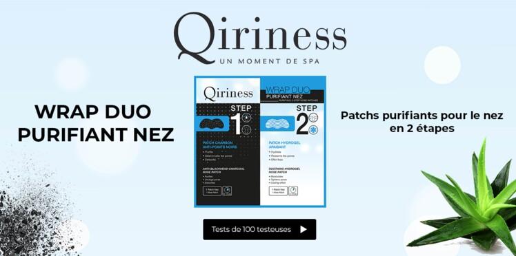 Testez le nouveau Wrap Duo Purifiant Nez de Qiriness