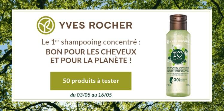 Testez le Shampooing Concentré I Love My Planet d'Yves Rocher