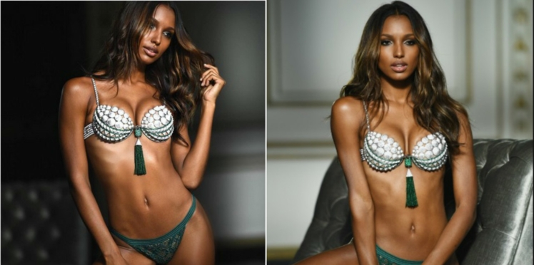 Photo : ce top model Victoria's Secret a aussi des vergetures
