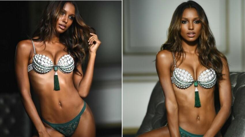 Photo : ce top model Victoria's Secret a aussi des vergetures