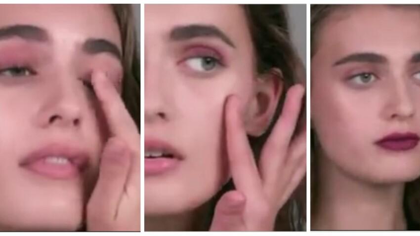 Se faire un total look make-up avec son rouge à lèvres