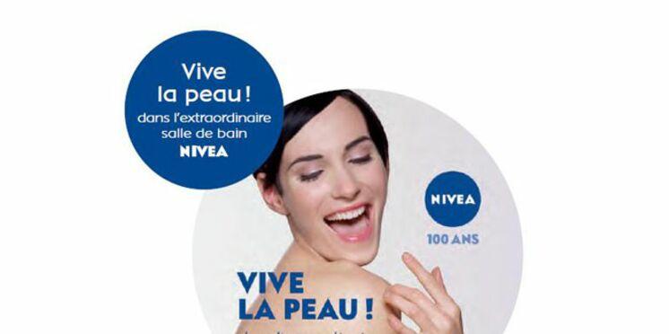 Un train Nivea sillonnera la France pour fêter les 100 ans de la marque