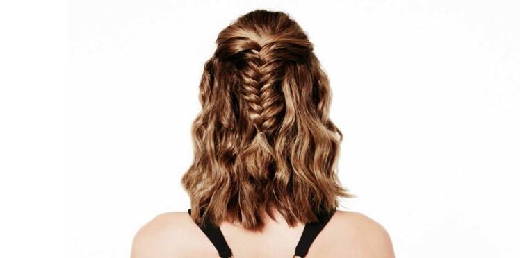 Tuto coiffure facile : la tresse wavy