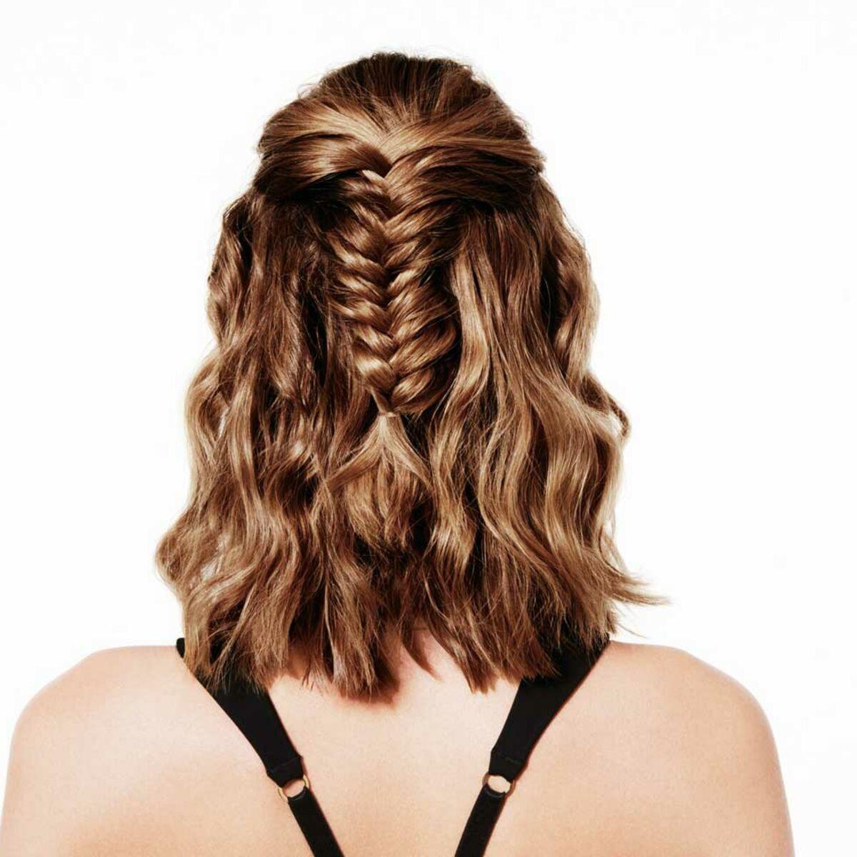 tuto coiffure facile : la tresse wavy : femme actuelle le mag