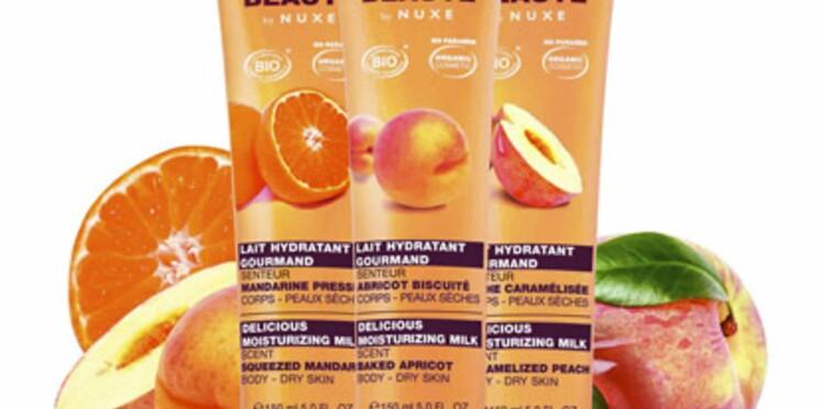 Trois laits gourmands pour Nuxe