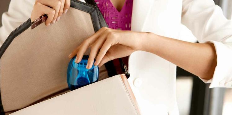 Ultra pratique le mini rasoir de sac !