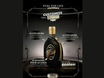 "Un parfum Diesel ""customisable"""