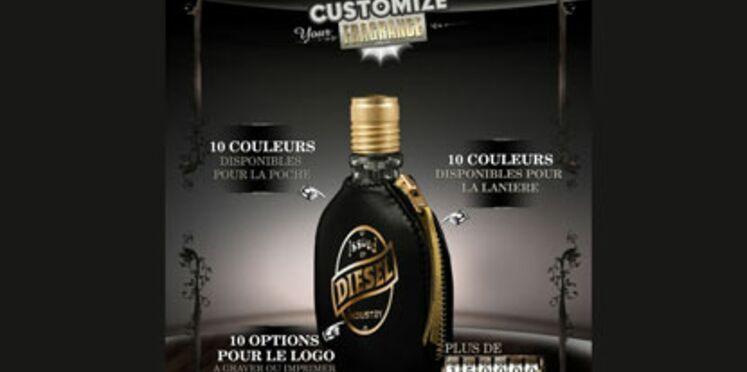 "Un parfum Diesel ""customisable"""