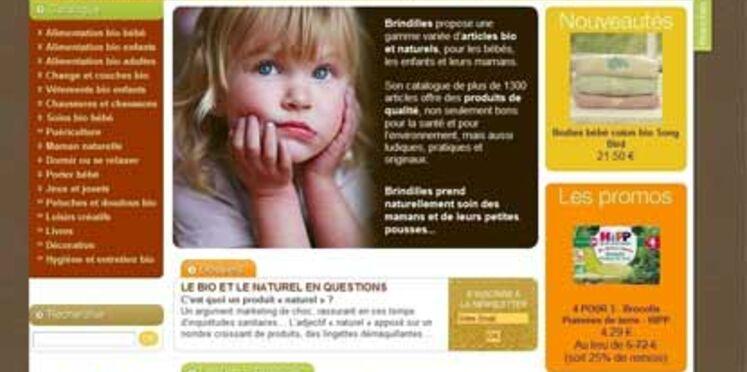 Un site de produits bio pour mamans et bébés