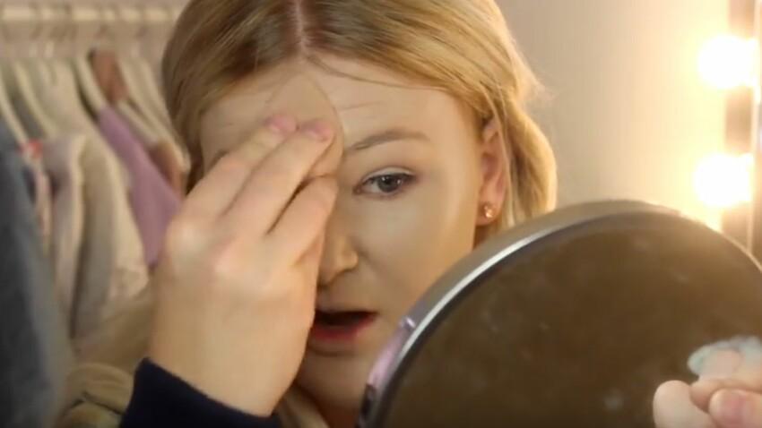 Vidéo : elle se met 100 couches de fond de teint sur le visage