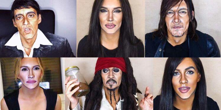 Vidéo - La maquilleuse incroyable qui se transforme en personnalités connues