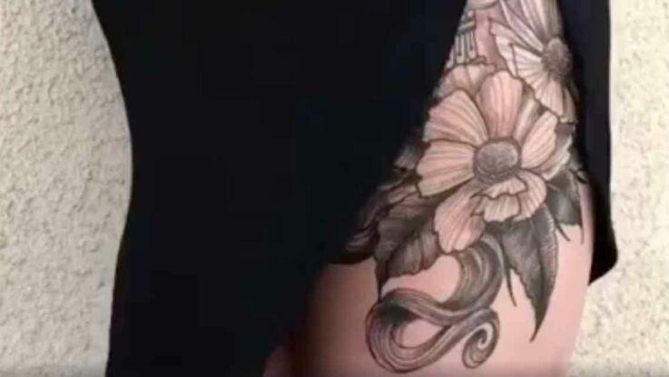 Vidéo - Un tatouage au motif original et sexy