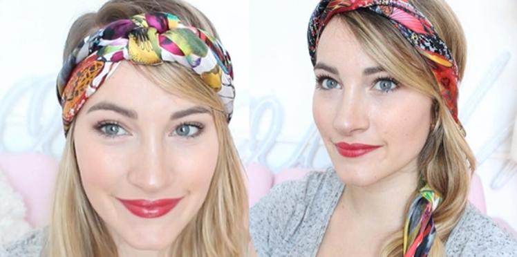 Ça décoiffe : votez pour votre attache avec un foulard préférée