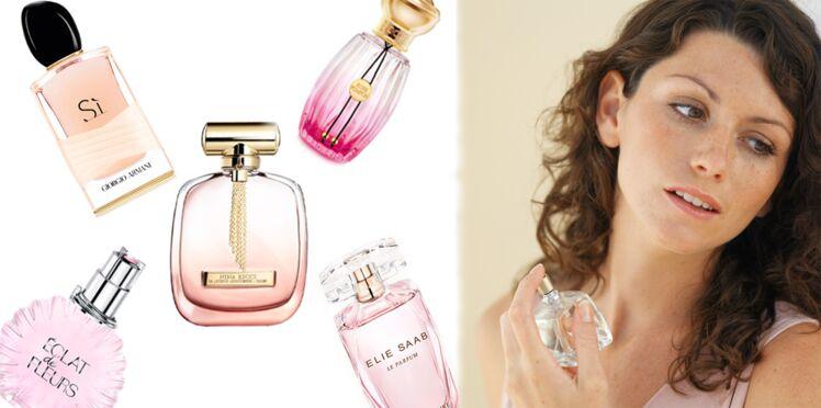 Parfums féminins : variations autour de la rose