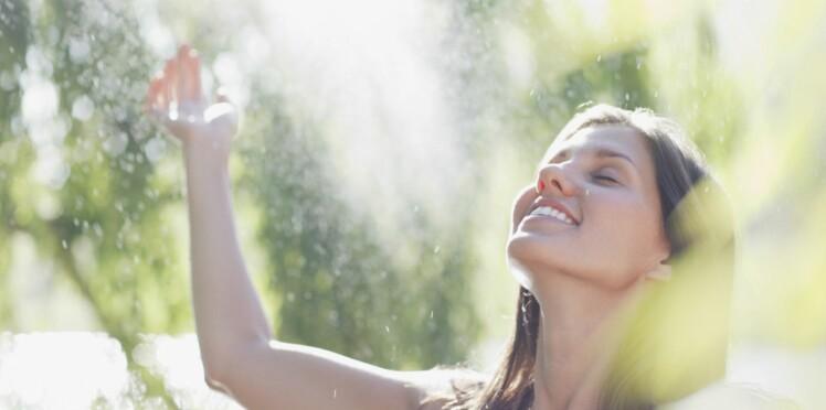 On adopte une eau fraîche pour l'été