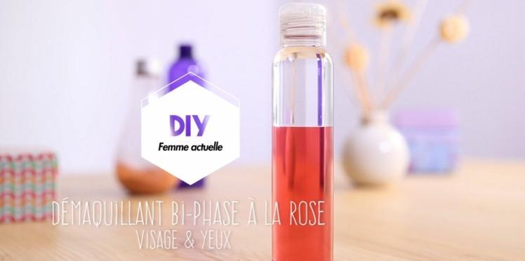 Vidéo : DIY le démaquillant bi-phase express